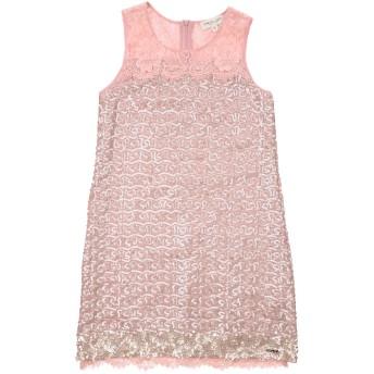 《セール開催中》TWINSET ガールズ 9-16 歳 ワンピース&ドレス ピンク 10 ポリエステル 100% / ナイロン / コットン / レーヨン