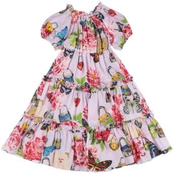 《セール開催中》DOLCE & GABBANA ガールズ 3-8 歳 ワンピース&ドレス ライラック 3 コットン 100%