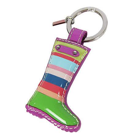 COACH  彩虹長靴多功能鑰匙環(彩)