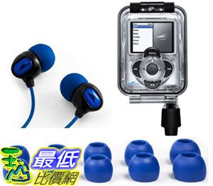 [106美國直購 ShopUSA] H20 Audio IN3 防水Waterproof Case for iPod Nano 3G (3rd Gen) with Headphones 耳機 $407