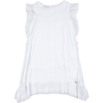 《セール開催中》LIU JO ガールズ 9-16 歳 ワンピース&ドレス ホワイト 10 ポリエステル 100%