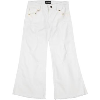 《セール開催中》MARCO BOLOGNA ガールズ 9-16 歳 パンツ ホワイト 16 コットン 98% / ポリウレタン 2%