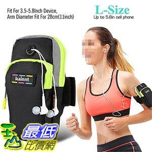 [106美國直購] 防水手機套 Kainnt(TM) Sports Multifunctional Pockets Workout Running ArmBag iphone 6s plus 5.8吋