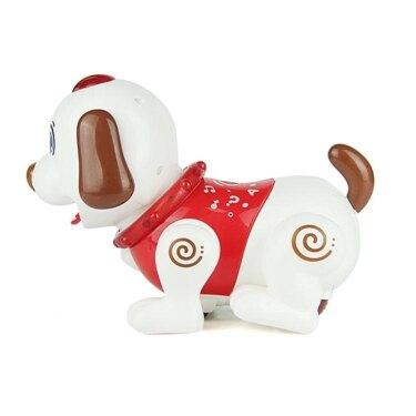 免運 遙控電動玩具狗會叫會走 早教 智慧感應電子音樂笨笨機器小狗