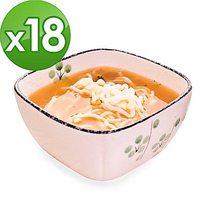 樂活e棧 低卡蒟蒻麵 燕麥拉麵+濃湯(共18份)