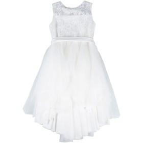《セール開催中》ALETTA ガールズ 3-8 歳 ワンピース&ドレス ホワイト 8 ナイロン 86% / ポリエステル 14%