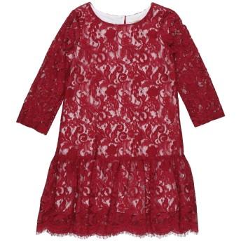《セール開催中》MONNALISA CHIC ガールズ 3-8 歳 ワンピース&ドレス レッド 4 レーヨン 47% / ナイロン 25% / テンセル 16% / コットン 12%