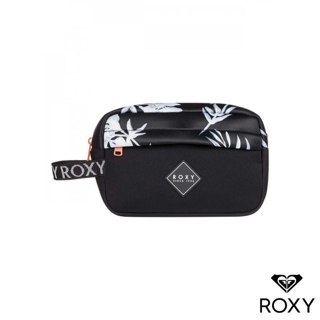 【ROXY】BEAUTIFULLY NEOPRENE 收納袋 黑