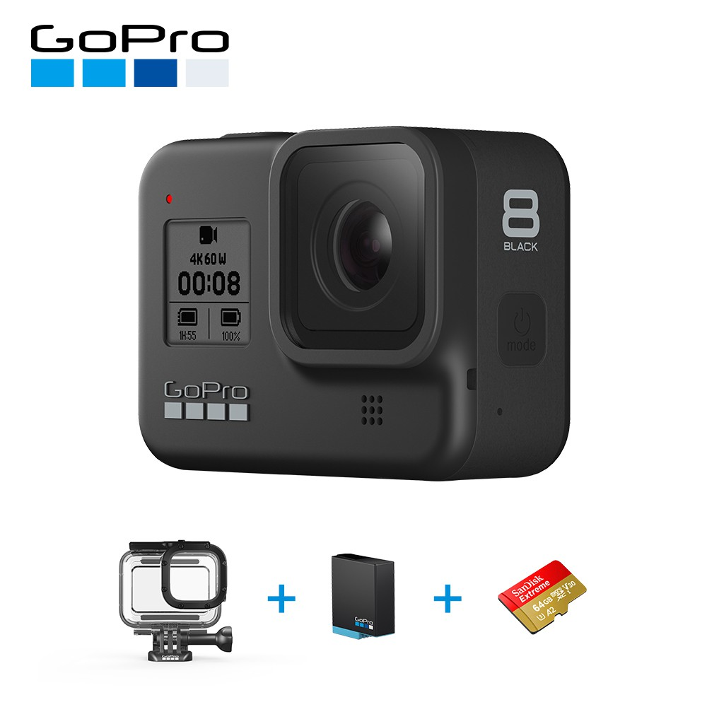 GoPro HERO8 Black潛水遨遊升級組