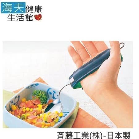 【日華 海夫】助握器 皮革製 萬能助握套 附木片 日本製 (E0028)