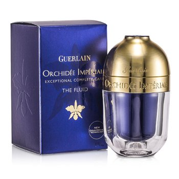 Guerlain 嬌蘭 蘭鑽黃金生命力再造乳 Orchidee Imperiale Exceptional Complete Care The Fluid (金蘭花技術) 30ml/1oz - 保濕及