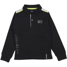 《セール開催中》COTTON BELT ボーイズ 3-8 歳 ポロシャツ ブラック 3 コットン 95% / ポリウレタン 5%