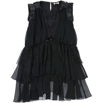 《セール開催中》ELISABETTA FRANCHI ガールズ 9-16 歳 ワンピース&ドレス ブラック 9 ナイロン 100%