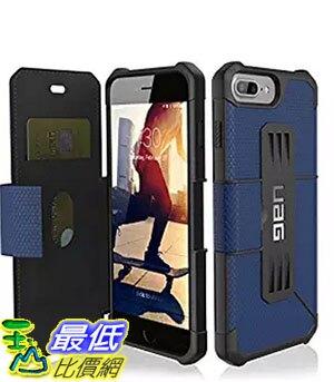 [美國直購] 藍色URBAN ARMOR GEAR UAG Folio iPhone 8 Plus / iPhone 7 Plus / iPhone 6s Plus [5.5-inch screen]