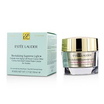 Estee Lauder 雅詩蘭黛 新生活膚全能面霜(無油配方, 中性/混合性肌膚適用) Revitalizing Supreme Light + Global Anti-Aging Cell Pow