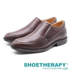 SAPATOTERAPIA 巴西男士 直套懶人皮鞋-棕(另有黑)