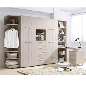 珊蒂10.5尺系統式衣櫥