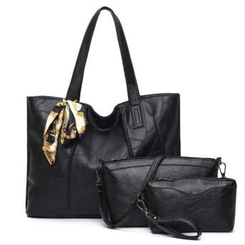 ハンドバッグはショルダーバッグの女性、3pcs女性のハンドバッグはトートバックを置きました