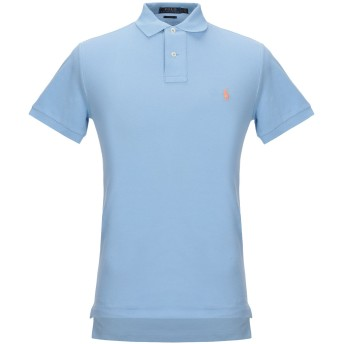 《セール開催中》POLO RALPH LAUREN メンズ ポロシャツ スカイブルー S コットン 100%