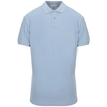 《セール開催中》ETRO メンズ ポロシャツ スカイブルー S コットン 100%
