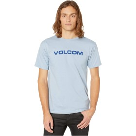 VOLCOM(ボルコム) トップス シャツ Crisp Euro Short Sleeve Basic Tee Flight Blu メンズ [並行輸入品]