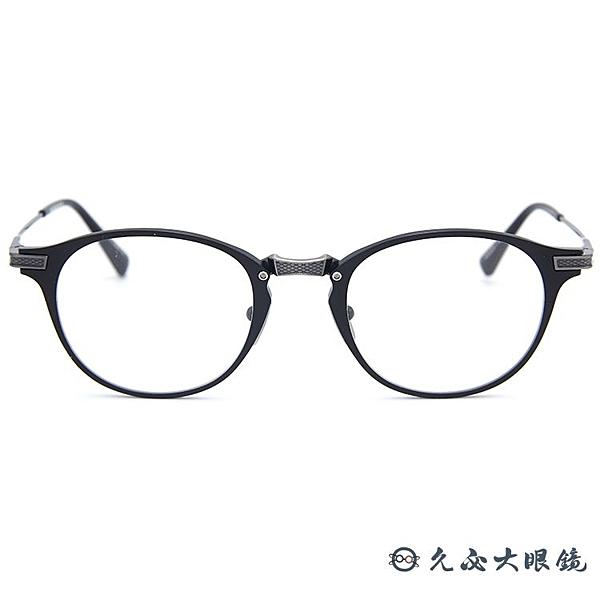 DITA 頂級眼鏡品牌 DRX2078 (黑銀) 鈦 全框 近視眼鏡 久必大眼鏡