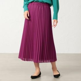 S.ESSENTIALS(エス エッセンシャルズ)/ハイツイストボイル アコーディオンプリーツスカート
