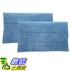 [106美國直購] 2 HAAN SI-25 Washable Micro-Fiber Blue Steam Mop Pads fits HAAN SI-25, SI-40, SI-60, SI-70
