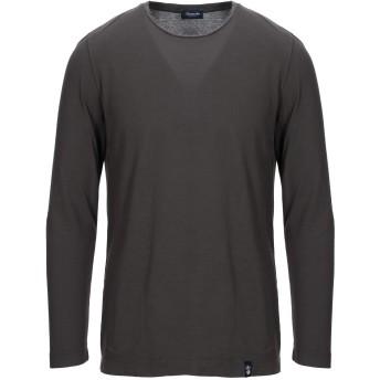 《セール開催中》DRUMOHR メンズ T シャツ 鉛色 XS コットン 100%