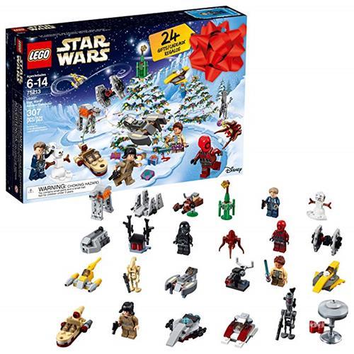 LEGO 樂高 75213 Star Wars TM Advent Calendar Christmas Countdown Calendar for Kids (307 Pieces), Multi