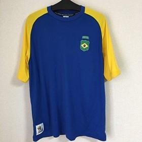 サッカーシャツ ユニフォーム 2010年ワールドカップ 記念Tシャツ M ブラジル
