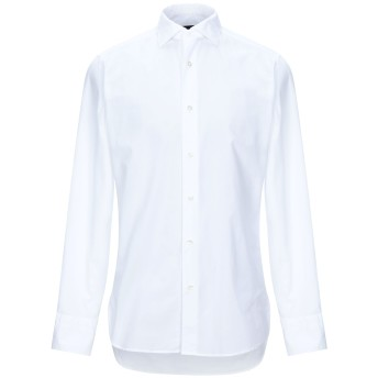 《セール開催中》THE GIGI メンズ シャツ ホワイト 40 コットン 100%