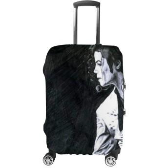 マイケル・ジャクソン ステージパフォーマンス Michael Jackson (17) 荷物カバー スーツケースカバー 保護カバー キャリー お キャリーバッグ 伸縮素材 防塵カバー ラゲッジカバー 着脱簡単 バッグカバー 紛失防止 19~32インチ対応