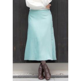 Viaggio Blu ドットボタンスエードタッチスカート その他 スカート,グリーン