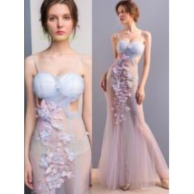 パーティードレス ウェディングドレス お嬢様 セクシー 結婚式 大人 かわいい レディース ワンピ イブニングドレス 透かし彫り タイトワ