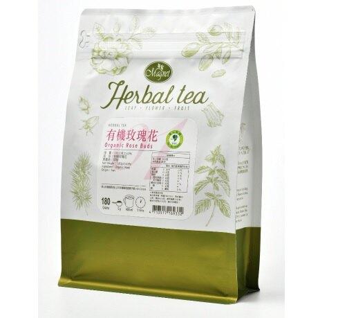 曼寧花草茶(有機玫瑰花)180g/包-【良鎂咖啡精品館】