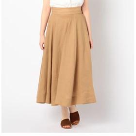 【NOLLEY'S:スカート】リネンフレアースカート