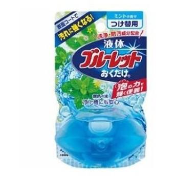 水洗トイレ用芳香剤 液体ブルーレットおくだけ つけ替用 ミントの香り 70ml 小林製薬 返品種別A