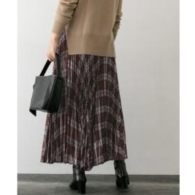 【アーバンリサーチ/URBAN RESEARCH】 ROSSO チェックプリーツスカート