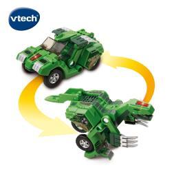 【Vtech】聲光變形恐龍車-鐮刀龍-托爾