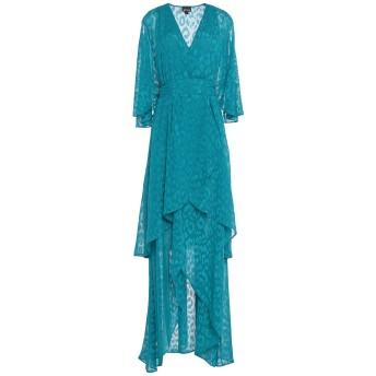 《セール開催中》JUST CAVALLI レディース ミニワンピース&ドレス ターコイズブルー 38 ポリエステル 100%