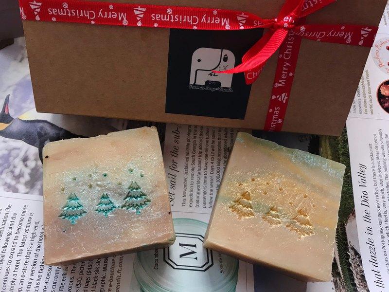 耶誕節交換禮物|無憂森林綠野仙蹤手工皂禮盒