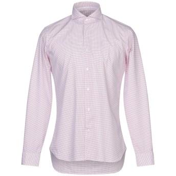 《セール開催中》CALIBAN 820 メンズ シャツ ホワイト 39 コットン 100%
