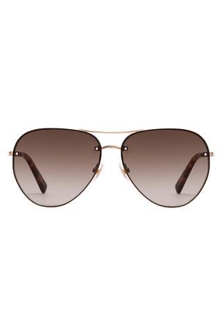 Gloria Aviator Sunglasses