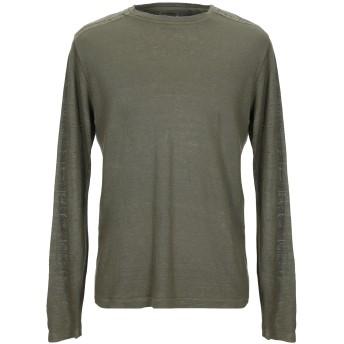 《セール開催中》120% メンズ T シャツ ミリタリーグリーン L リネン 100%