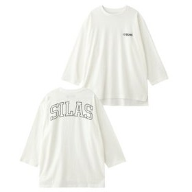 【SILAS:トップス】BACK IVY LOGO BB TEE