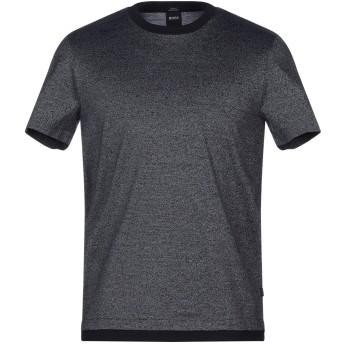 《セール開催中》BOSS HUGO BOSS メンズ T シャツ ダークブルー S コットン 100%
