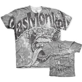 Officially Licensed Merchandise Gas Monkey Garage Flying High Womens T-Shirt (Black), Medium