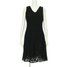 ラルフローレン RalphLauren ドレス レディース  ブラック系 カクテルドレス コットン100%【新品未使用】20191108
