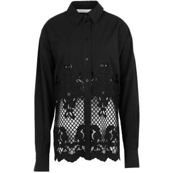 《セール開催中》SEE BY CHLO レディース シャツ ブラック 34 コットン 100%